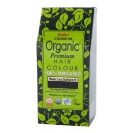 Radico Organic Pflanzenhaarfarbe 100 g, soft schwarz