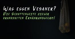 Was essen Veganer? Die Schattenseite dieser krankhaften Ernährungsform!