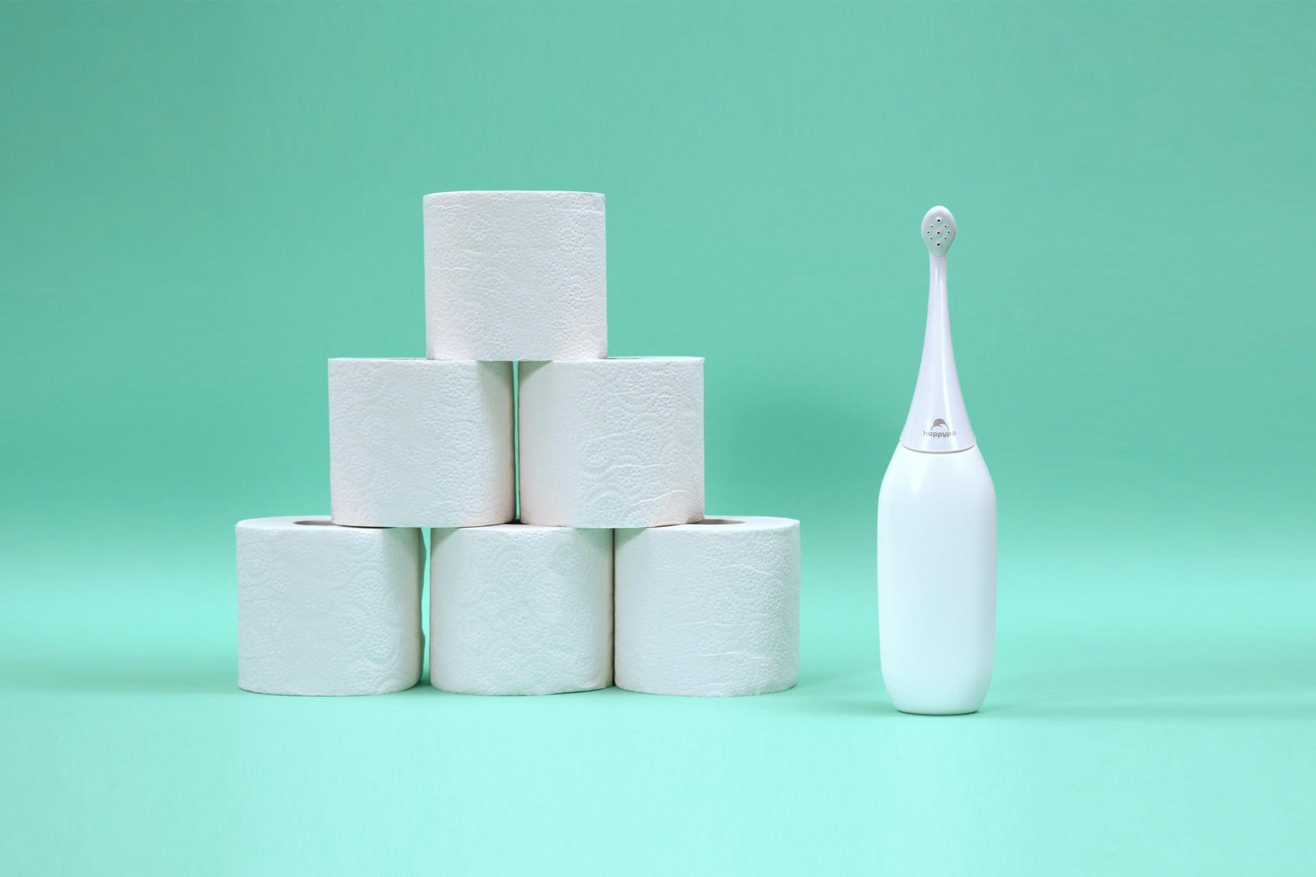 Mit HappyPo Toilettenpapier sparen