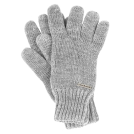 HoodLamb Knit Gloves light grey