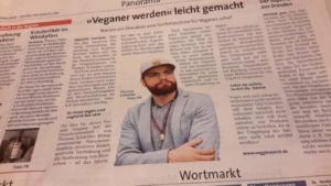 VeggieSearch im Wochenkurier Dresden