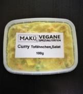 MAKÜ Curry Tofähnchen - veganer Curry-Geflügelsalat