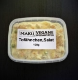 Makü Tofähnchen-Salat - Veganer Geflügelsalat
