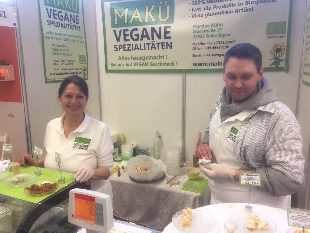 Vegane Spezialitäten von MAKÜ