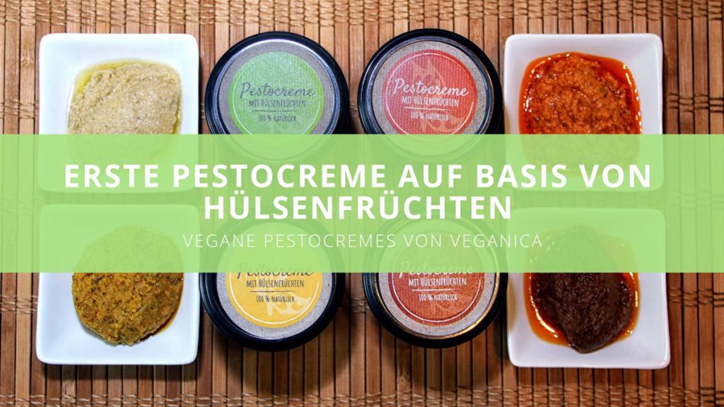 Veganica - Erste Pestocreme auf Basis von Hülsenfrüchten