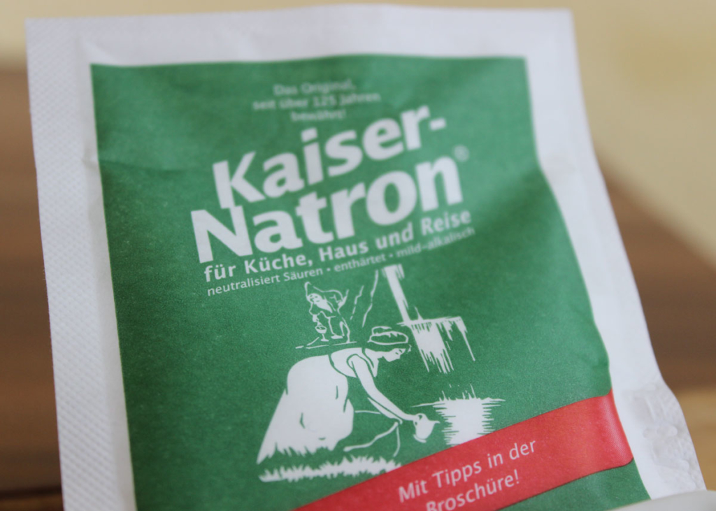 Natron als Alternative für Zahncreme