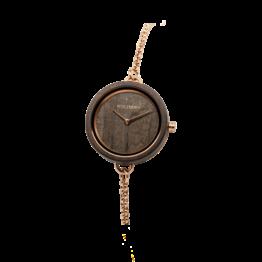 Lie (Leadwood/Leadwood) - Holzkern Uhr