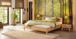 Premium Collection by Home affaire Wildeiche Massivholz-Bett Maximus Vegan und Metallfrei Allergiker geeignet