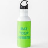 Vegan - Iss Deine Grünen Wasserflasche