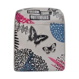 DOGO Schultertasche »Follow your butterflies«