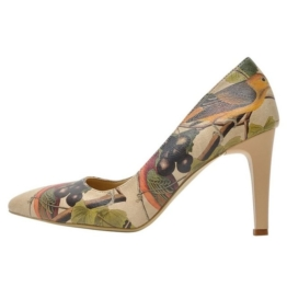 DOGO »Carving Bird« Pumps Vegan