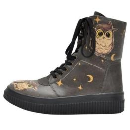 DOGO »Owl Family« Stiefel Vegan