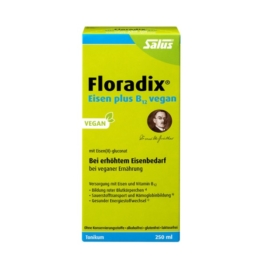 Floradix Eisen plus B12 vegan Tonikum 250 ml