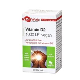 Vitamin D2 1000 I.E. vegan Kapseln 60 St
