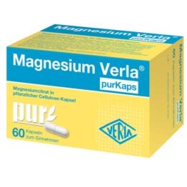 Magnesium Verla Purkaps vegane Kapseln z 60 St