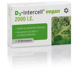 D3-intercell Vegan 2.000 I.E. Kapseln 90 St