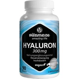 Hyaluronsäure 300 mg hochdosiert vegan K 90 St