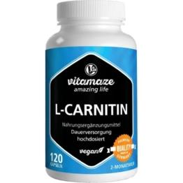 L-carnitin 680 mg vegan Kapseln 120 St