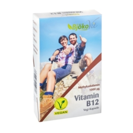 Vitamin B12 Vegan Kapseln 1000 µg Methyl 60 St