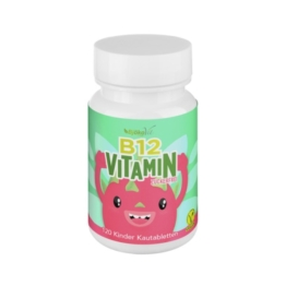Vitamin B12 Kinder Kautabletten vegan 120 St